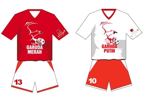 FOTO-FOTO Latihan Garuda Merah - Garuda Putih Di Stadion Gajayana Malang