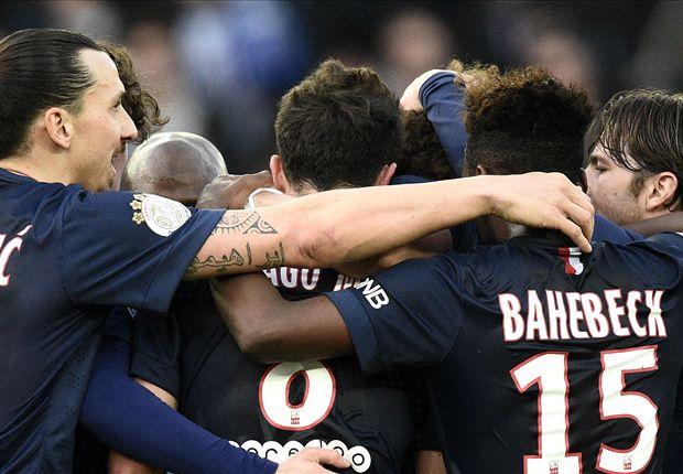 Paris Saint-Germain 4-1 Lens: Ibrahimovic on target as Parisiens move top