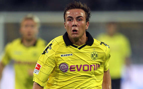 BVB-Talent Mario Götze (Bongarts/Getty)