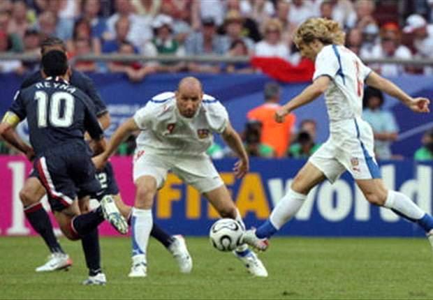 República Checa dio la gran sorpresa ante Italia en la Euro 1996