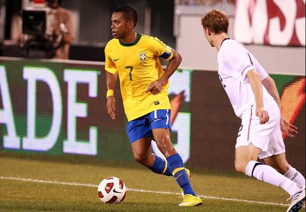 Olympique Lyonnais bid for Manchester City's Robinho on loan - report