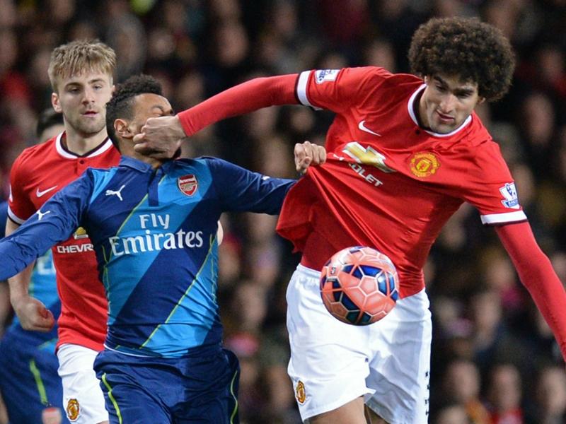 HT: Manchester United 1-0 Arsenal