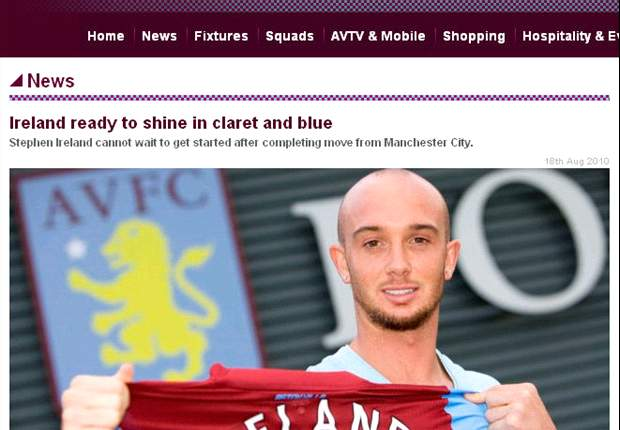 New Aston Villa midfielder Stephen Ireland: James Milner made a mistake in joining Manchester City, where Roberto Mancini 'has everyone on edge'