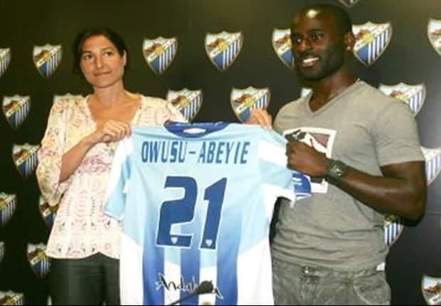 Quincy Owusu-Abeyie, ex del Málaga, firma por tres campañas con el Panathinaikos