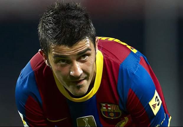 Athletic Bilbao 1-3 Barcelona: David Villa sent off as goals from Seydou Keita, Xavi & Sergio Busquets move Barca up to second