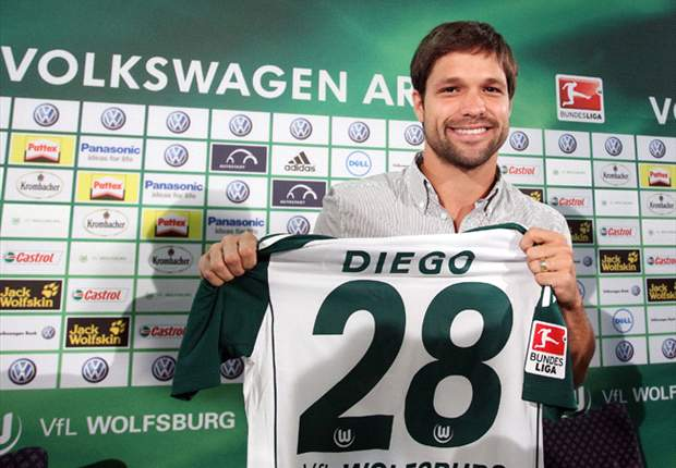 Wolfsburg Star Diego Doubtful For Borussia Dortmund Clash