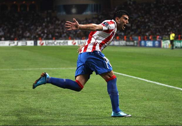Atletico Madrid Goal Heroes Jose Antonio Reyes & Kun Aguero Praise Team After Inter Win