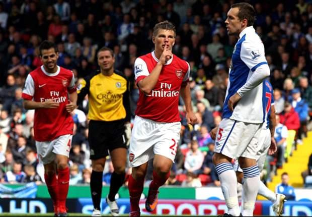 Arsene Wenger praises Arsenal's commitment against Blackburn Rovers and backs Theo Walcott to improve
