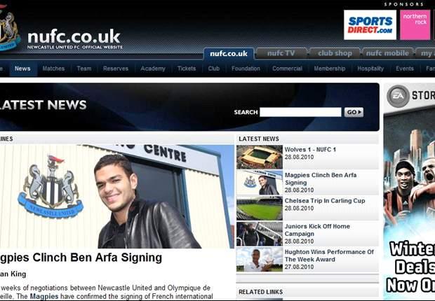 Everton 0-1 Newcastle: Ben Arfa's Wonder Strike Earns Newcastle Three Points