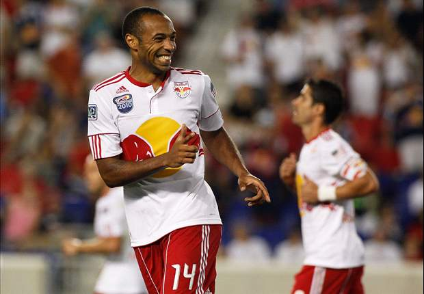 New York Red Bulls' Thierry Henry To Miss Match With Los Angeles Galaxy Due To Sprained Knee