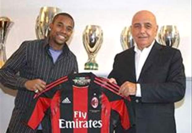 Report: Milan's Robinho Faces Another Bench Start Against Genoa