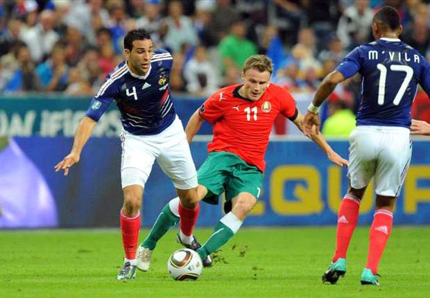 Loic Remy Laments Belarus' 'Perfect Hold-Up' Against France