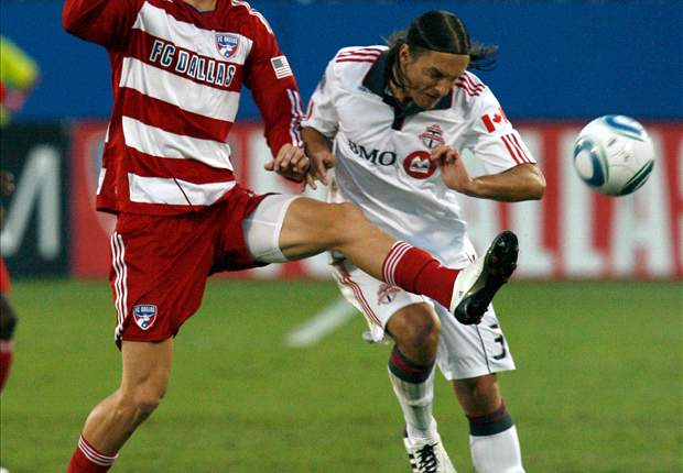 FC Dallas 1-1 Chicago Fire: Brek Shea Shown Red But Hoops Hang On For Draw