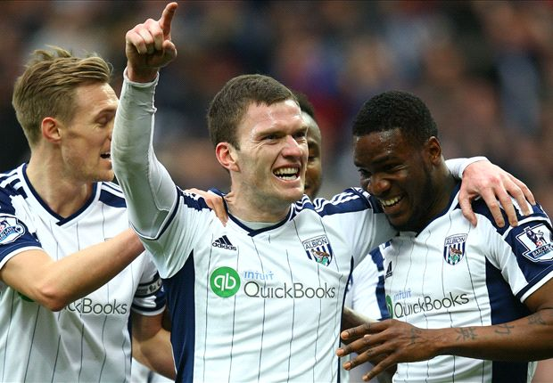 West Brom 1-0 Stoke City: Brown Ideye sends Baggies closer to safety