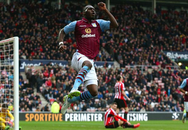 Sunderland 0-4 Aston Villa: Benteke & Agbonlahor hit doubles to hammer Black Cats
