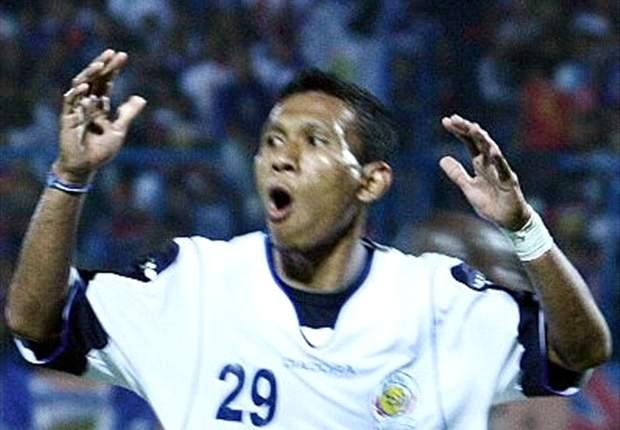 Musafri menyumbangkan satu gol saat PBR menaklukkan Persita 2-0 di Stadion Si Jalak Harupat, Sabtu (1/2).
