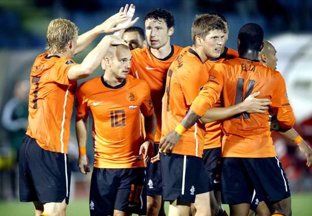 Rafael van der Vaart, John Heitinga & Dirk Kuyt named in Netherlands squad for Euro 2012 qualifiers against Moldova & Sweden