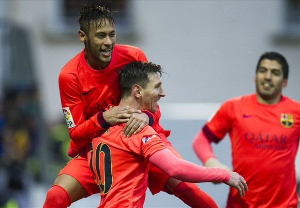 Eibar 0-2 Barcelona: Messi moves clear of Ronaldo with double in Basque Country