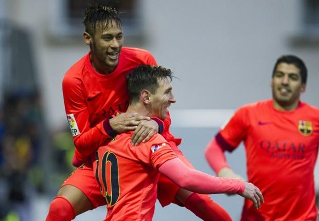 Eibar 0-2 Barcelone :