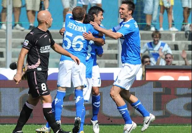 Brescia houdt Palermo op afstand