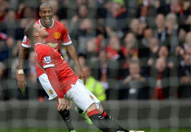 Manchester United 3-0 Tottenham: Rooney & Fellaini punish woeful Spurs