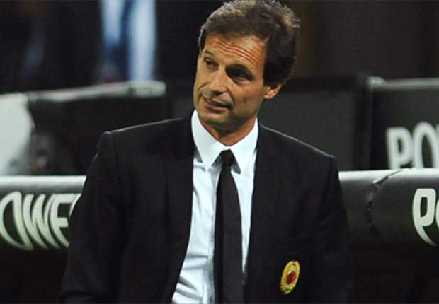 Milan Coach Allegri Delighted With Top Spot Following Parma Win