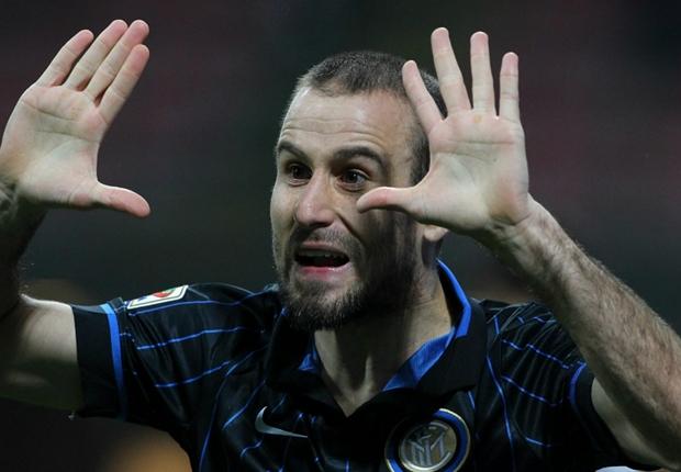 Rodrigo Palacio gritó el único tanto de Inter
