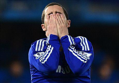 Hazard admits he'll not match Messi & Ron