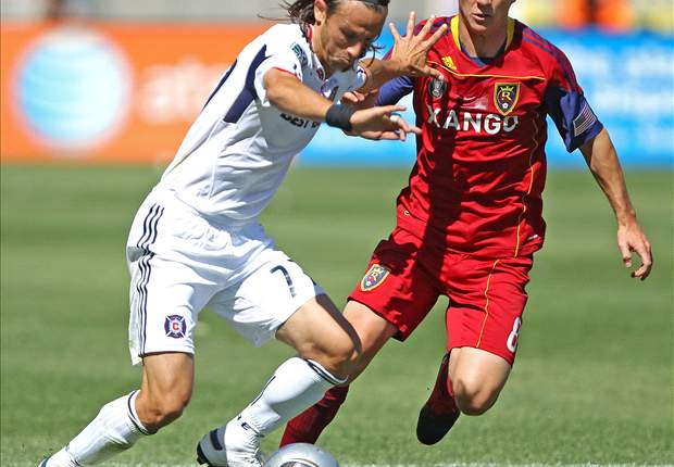 Real Salt Lake 1-0 Chicago Fire: RSL Chase League Lead