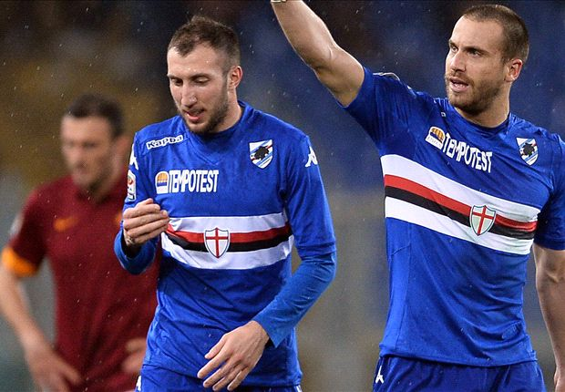 Roma 0-2 Sampdoria: De Silvestri and Muriel all but end Giallorossi title hopes