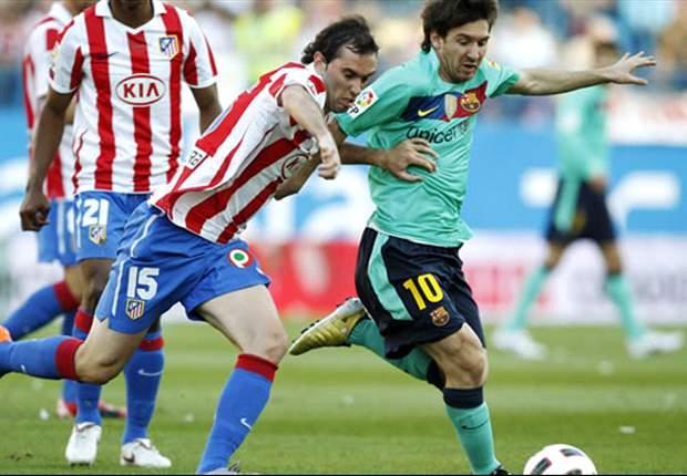 Liga BBVA: De Gea y el Atlético ponen el corazón y el Barcelona, el fútbol y los puntos (1-2)