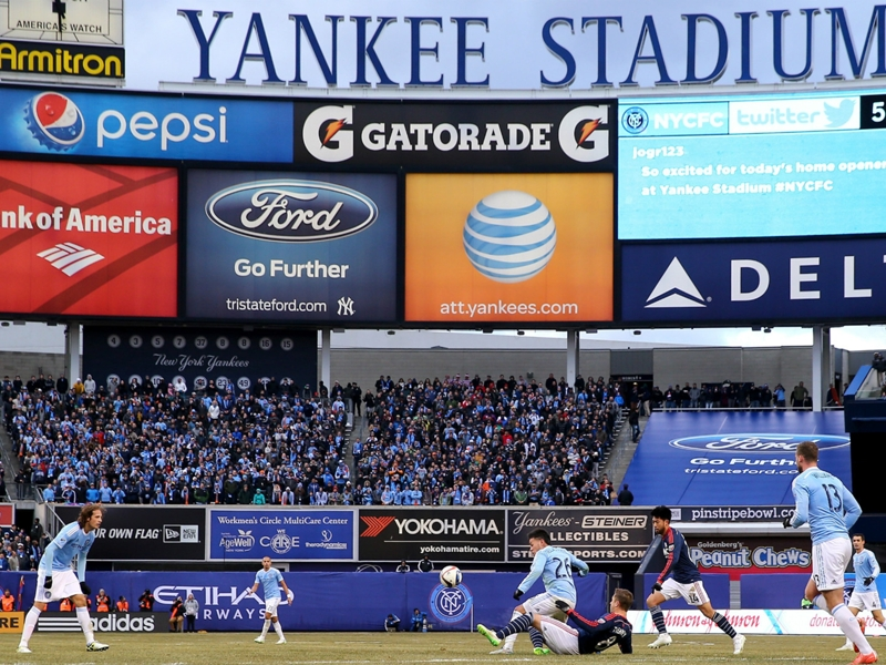 New York City FC forced to move home game to East Hartford, Conn.