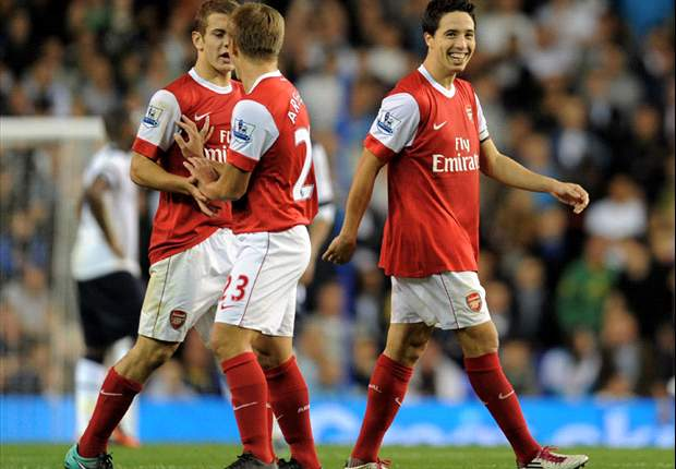 League Cup: Tottenham 1-4 Arsenal (aet): Extra-time Samir Nasri penalty double and an Andrey Arshavin goal knocks Spurs out at White Hart Lane