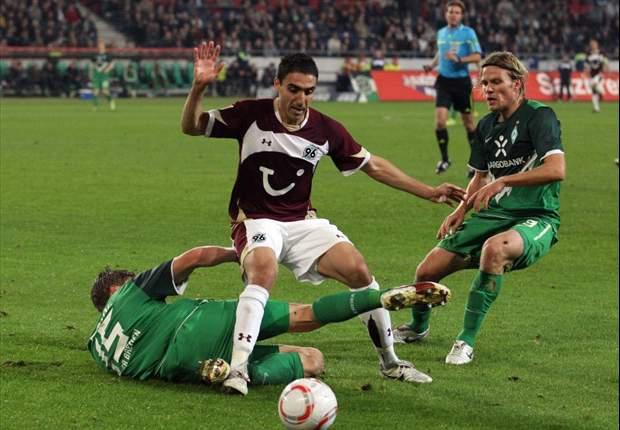 European Golden Shoe Leader Moa Abdellaoue Set To Miss Hannover's Borussia Moenchengladbach Clash