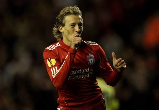 Liverpool midfielder Lucas: Blackburn Rovers win hasn't lifted pressure