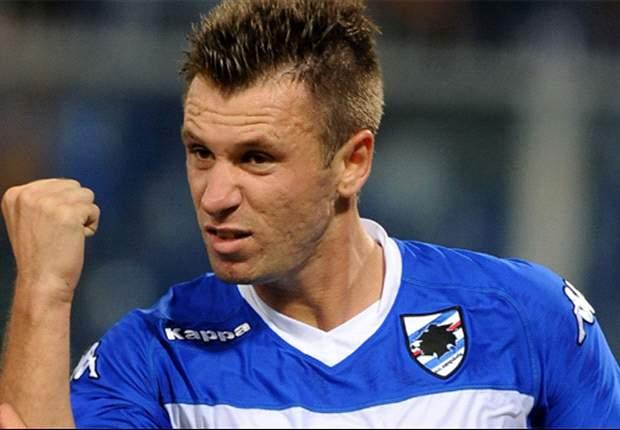 Sampdoria 2-1 Fiorentina: Late Cassano Goal Gives The Blucerchiati Win
