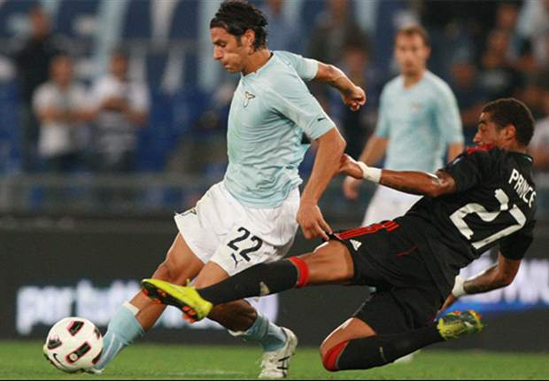 Lazio 1-1 Milan: Sergio Floccari leaves it late to steal a point