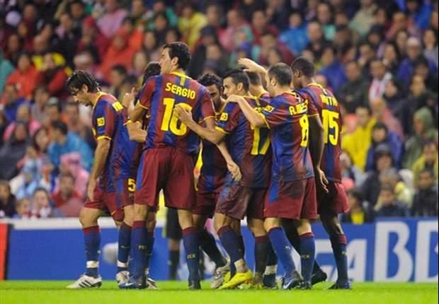 Liga BBVA: Messi se aprovecha del Zaragoza para ganar tres puntos más (0-2)