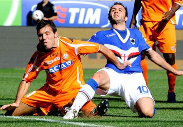 Sampdoria 0-0 Udinese: Friulani Earn Their First Point In 2010-11 Serie A Season