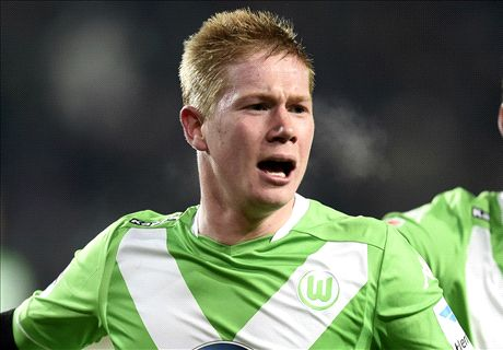 DE BRUYNE: Man City wait on talks