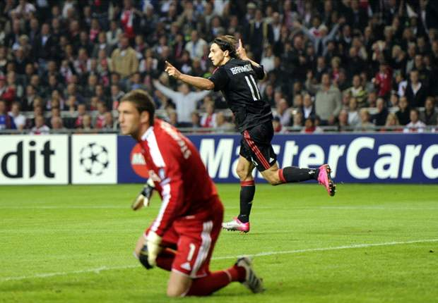 Champions League: Ajax 1-1 AC Milan - Zlatan Ibrahimovic scores against former side to earn draw for Rossoneri