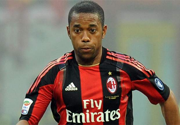 Robinho Hails Milan's Fighting Spirit After Win Over Catania