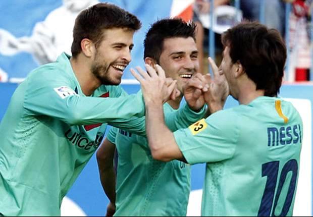 David Villa Admits Barcelona Struggled Against Rubin Kazan