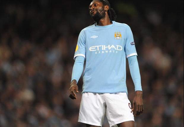 Manchester City striker Emmanuel Adebayor admits he would like to play in Serie A, possibly with Juventus