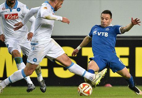 Ratings: Dinamo 0-0 Napoli (1-3 agg.)