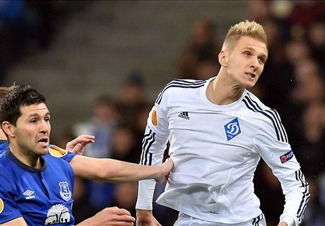 Ratings: Dynamo Kiev 5-2 Everton (6-4)