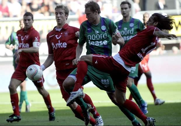 FC Twente bezorgt Groningen eerste nederlaag