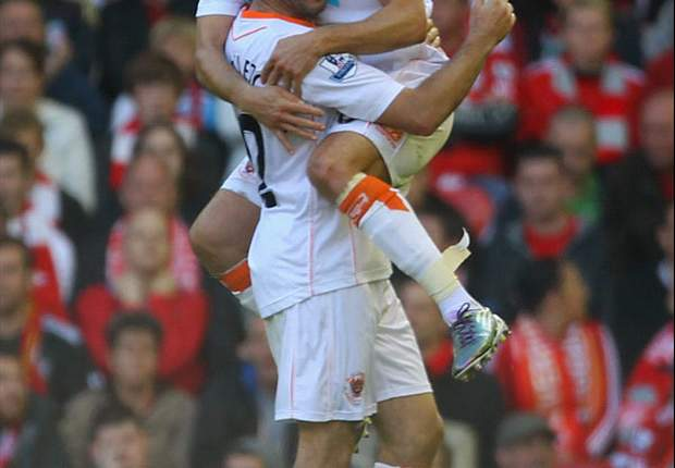 Liverpool 1-2 Blackpool: Misery continues for Roy Hodgson as Seasiders shock the Kop to leave Reds in relegation zone