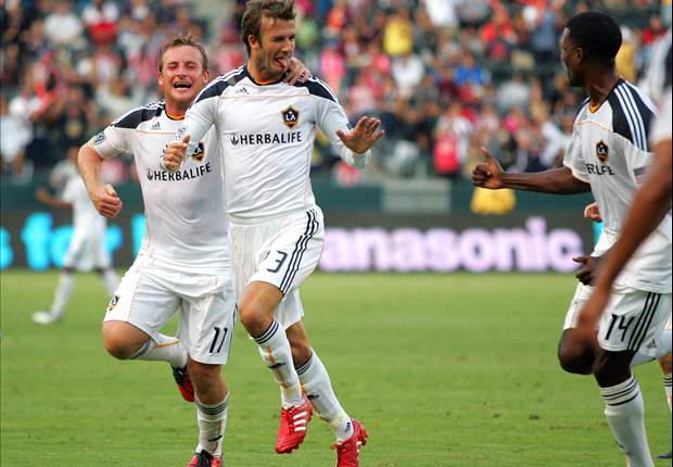 LA Galaxy Midfielder David Beckham Rules Out Possibility Of Everton Loan Move