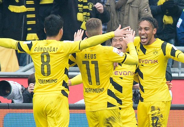 Hannover 2-3 Borussia Dortmund: Aubameyang at the double as BVB return to winning ways